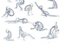 Animation poses