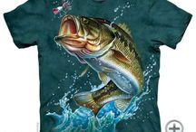 Horgász póló
