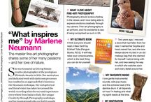 GLAMOUR MAGAZINE FEATURE / Marlene Neumann is featured in GLAMOUR MAGAZINE as this month's inspirational woman. In the March issue - we learn more about Marlene's personal side,what makes her tick, what inspires her and feeds her soul.  Be inspired by this Master Fine Art Photographer - Read more...http://www.marleneneumann.com/glamour-magazine.pdf