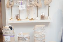 Bridal Studio Decor / Ideas for creating a bridal studio.