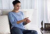 Yoga Glow / When using YUNI products and practicing Yoga on a regular basis, your skin gets a healthy glow, the Yoga Glow.