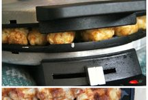 waffle iron and rice cooker recipes / by Lindsay Abess