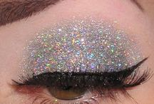Glitter Eye Makeup Inspiration / Glitter Makeup up ideas!