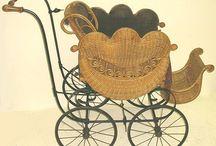 Antique baby strollers & Cribs / by Jakki Coburn