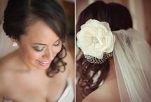 Wedding makeup and hair!!