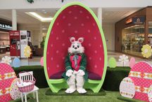 Easter Mall Decor
