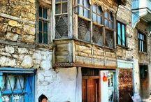 Традиционные турецкие дома
