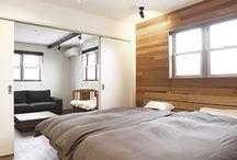 ベッドルーム・寝室 / ベッドルーム・寝室の建築・インテリア実例 by ジャストの家