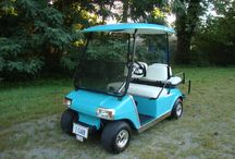 Refurbished Club Car / This is a club cart golf cart that I completed refurbished.