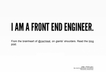 A Front End Engineer's Manifesto