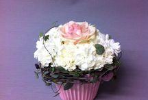 Kukkia / Cawell / Kukkakimppuja, hääkimppuja, kukka-asetelmia