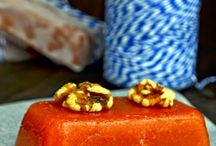 membrillo con nueces