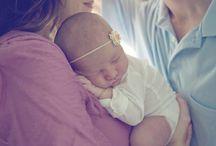 maternity/newborn pic ideas / by Laura Robinson