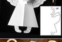 anděl z papíru
