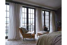 Window treatments / Tumbleweed & dandelions favorite window dressing
