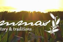 Lammas / August 1st: The first harvest festival celebrating the abundance of the earth, particularly wheat and bread.