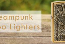 Steampunk Zippo Lighters