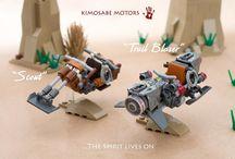 Lego (Futuristic/Sci Fi) / Futuristic and sci fi builds.