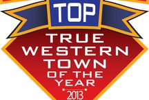 True West Magazine's #1 True Western Town in the nation - 2013! / by Fort Smith CVB