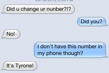 Wrong person texts