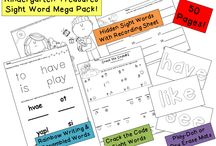 sight word activities / by Holly Grummert