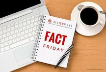 Fact Friday: Productivity Facts and Stats / Statistics about how productive and balanced we are.