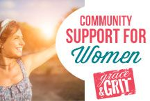 Community Support for Women / Combining a supportive online community, coaching calls, and actionable monthly content, the Inner Circle is the perfect combination of accountability, education and inspiration to make 2016 the year you finally take care of yourself in the way you always intended to. https://graceandgrit.com/innercircle/