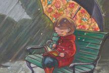 rain&umbrella