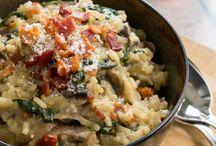 risotto, grains