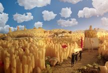 Delvaux Miniatures Belgitude / Let award-winning Belgian filmmaker Jaco Van Dormael take you on a journey across Belgium with the Miniatures Belgitude, a collection of seven miniature bags which capture the spirit of Belgium.