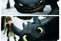 Toothless x hiccup↖(^ω^)↗
