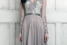grey wedding gothic