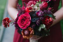 Wedding Day Flowers / A board centered around all things floral for a wedding