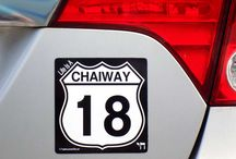 """Life Is A """"CHAIWAY"""", Take Route 18! / Life Is A """"CHAIWAY"""", Take Route 18!  #Chaiway  #Chaiway18 #Jewish #Hebrew #Chai / by Traditions Jewish Gifts"""
