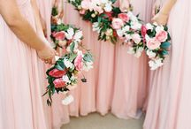 Great Bridesmaid & flower colour combinations