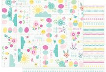 Easter Blessings by Mari Koegelenberg / From egg hunts to Easter gatherings, the charming and oh-so-cute patterns of Easter Blessings will bring whimsy and delight to all of your spring projects.