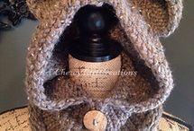 Loom knit bear