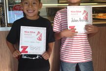 Nice zSlice Rewards / Celebrating kids who are especially nice during National Bullying Prevention Month
