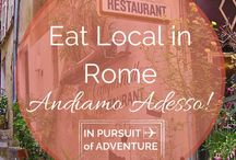 Eat in Rome