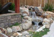 waterval tuin