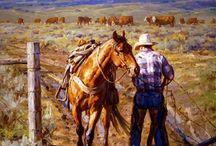 cowboy landscapes
