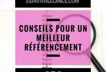 Esprit SEO / Mes articles sur mon blog Esprit Freelance