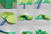 Kusudama papir technika
