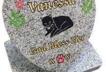 Pet Memorials / Handmade by stonemason Andy Manuell.  Andy Manuell Stonemason and Art Gallery, 108 South Street, Tarring, Worthing, West Sussex BN14 7NB http://andymanuellstonemasons.co.uk/