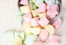 Cotton candy / Pastel cotton candy and sweets
