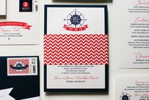 Nautical Weddings / Paper ideas for nautical wedding themes / by Gourmet Invitations
