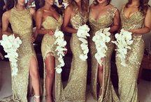 Bride/groom team