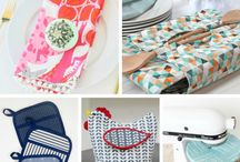 Frugal Fun - Sewing / Mrs F loves to sew and with years of fabric stashed away it really is time to use it up and save money on gifts and things for the home...