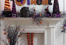 Fall and Halloween Decor / by Theresa Estes