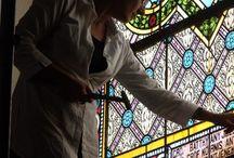 Oprava a Reštaurovanie Vitráže Okna Kostola v Hornom Bare / Oprava a Reštaurovanie Vitráže Okna Kostola v Hornom Bare  http://sk.sooscsilla.com/cirkevne-nabozenske-a-kostolne-sakralne-vitraze/ http://sk.sooscsilla.com/portfolio/oprava-a-restaurovanie-vitraze-okna-kostola-v-hornom-bare/